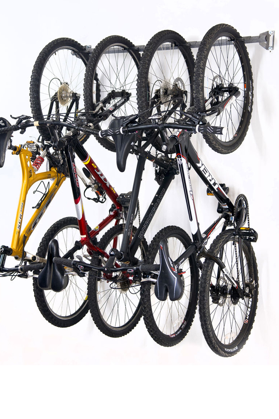 Good Bike Storage Rack   Hang Up To Four Bicycles