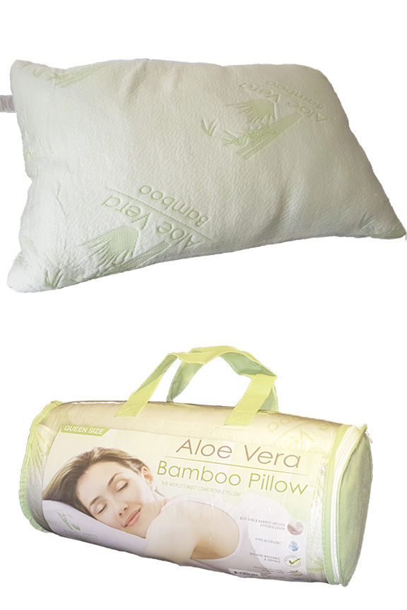 premium soft home size kitchen case pillow removable foam bed memory dp shredded standard bamboo amazon queen com x