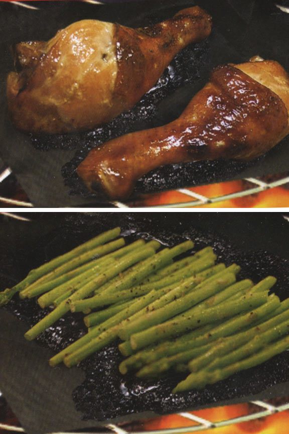 Cook Veggies Right On The Grill And Lock In Marinade Flavors