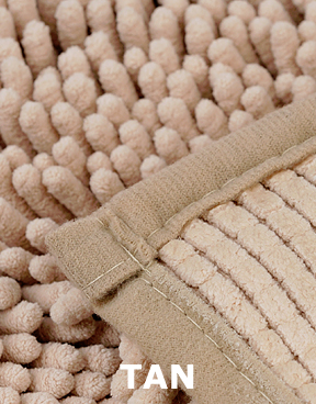 Superbe Tan Version Microfiber Chenille.
