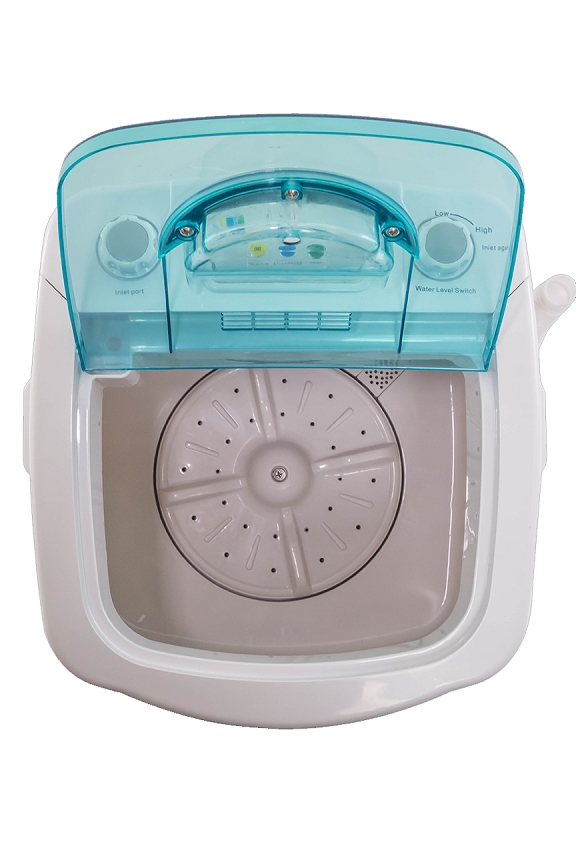 Genial MiniWash   Portable Electric Washing Machine. Product Detail. Inside And  Top View.