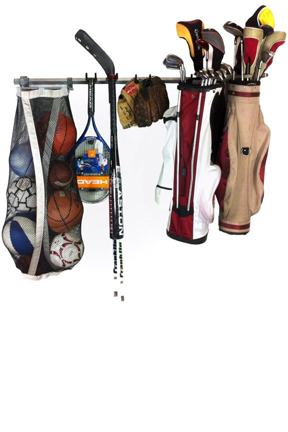 Versatile Rack Has Ability To Hold Bats Sticks Bags Pads Helmets Bikeore