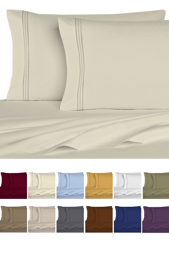 Premium Quality Microfiber Bed Sheets.