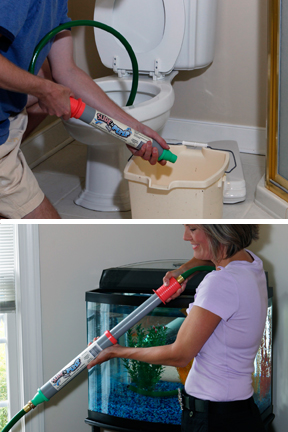Remove Water From A Toilet For Repairs Or Take Out Of Fish Tank Cleaning