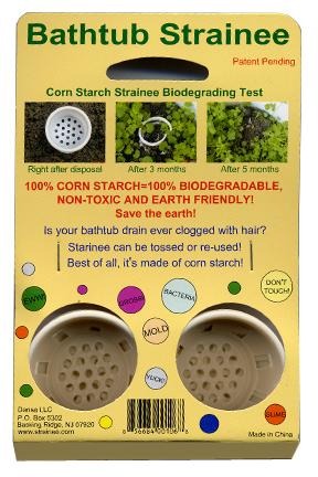 Bathtub Strainee - Disposable Drain Strainer