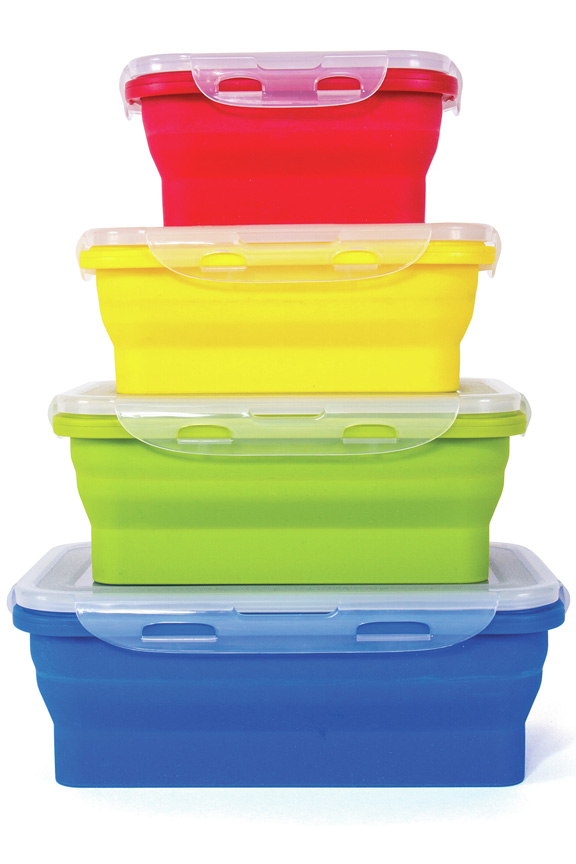 Nice Thin Bin Collapsible Storage Bin Set
