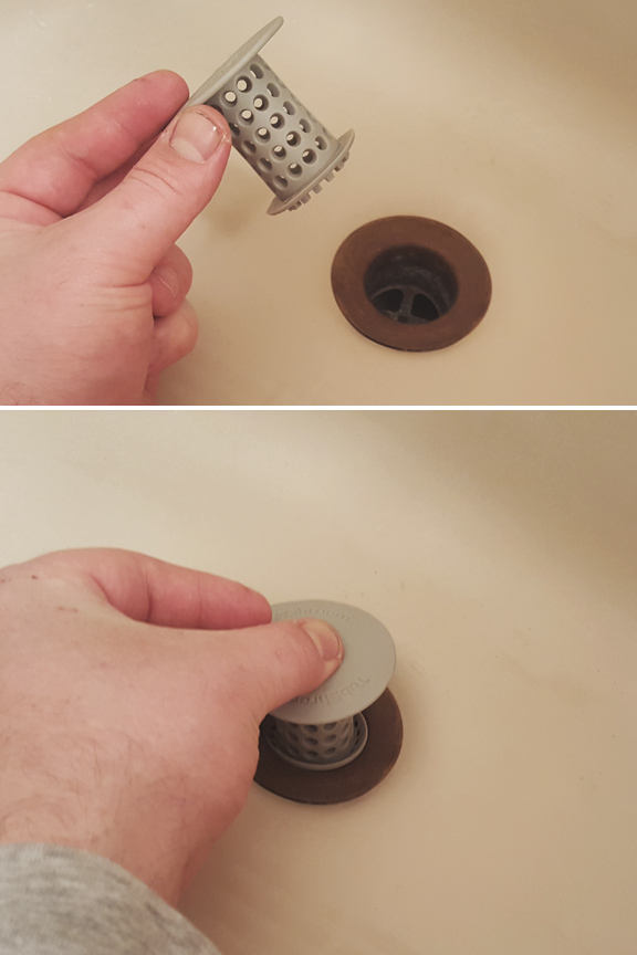 mushroom strainer drain cleaning