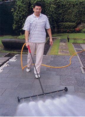Turbo Jet Water Broom