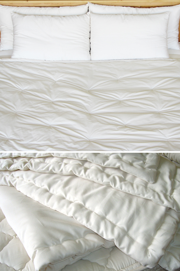 living comforters green coverlets earth pure organic three grow and hand goods weights friendly comforter tufted p wool island blankets