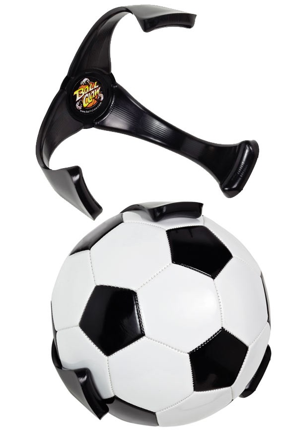 45ae52255 Ball Claw - Soccer Ball Holder And Storage Device